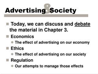 advertising  society