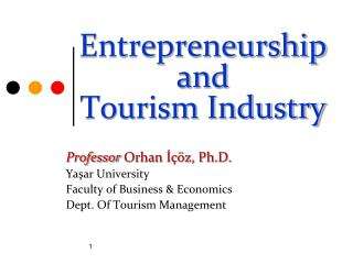 Entrepreneurship and Tourism Industry