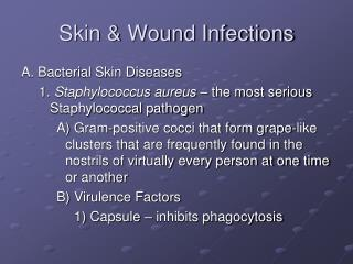 Skin  Wound Infections