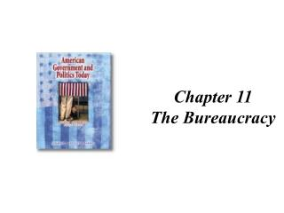 chapter 11 the bureaucracy
