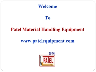 Manufacturer of Bulk Material Handling Equipments