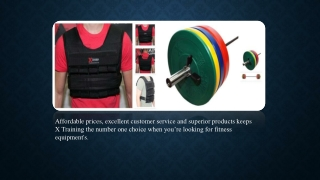 Find the best fitness equipments!