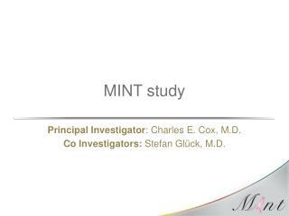 MINT study