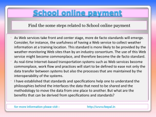 Best payment option for schools