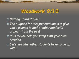 Woodwork 9