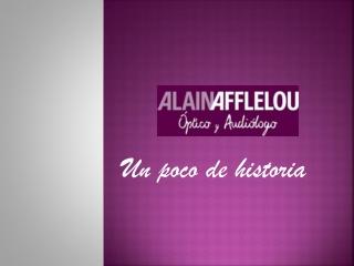 Alain Afflelou, la historia de una marca