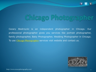 Cezary Biedrzycki - A Complete Photography Solution in Chica
