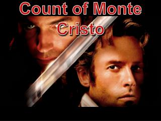 Count of Monte Cristo      Vocabulary Week 4