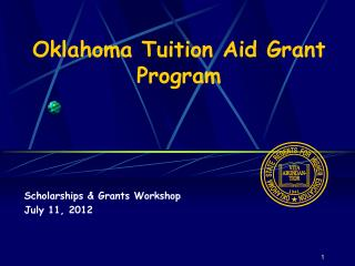 Oklahoma Tuition Aid Grant Program