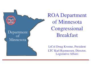 ROA Department of Minnesota Congressional Breakfast