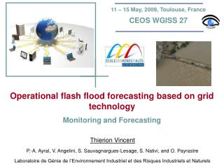 Operational flash flood forecasting based on grid technology  Monitoring and Forecasting