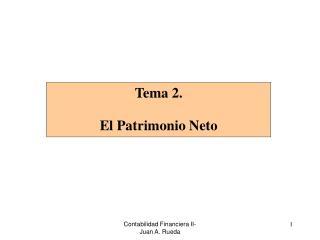Contabilidad Financiera II-Juan A. Rueda