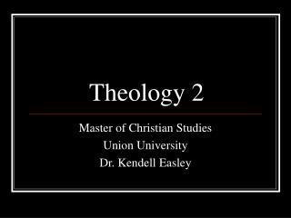 Theology 2