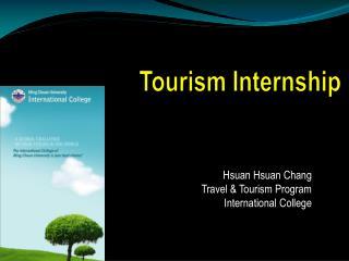 Tourism Internship