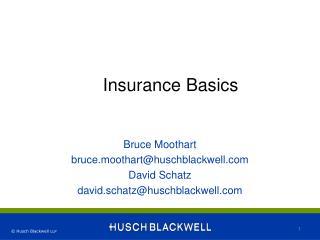 Insurance Basics