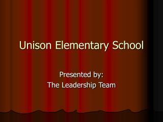 Unison Elementary School