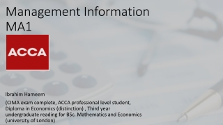 Information and Administration