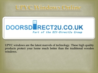 Upvc Windows Online