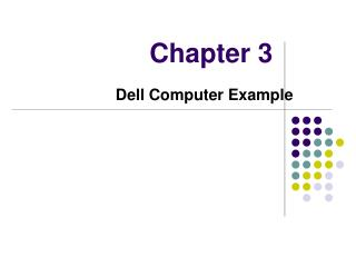 Dell Computer Example