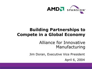 Building Partnerships to Compete in a Global Economy