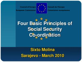Four Basic Principles of Social Security  Co-ordination