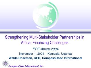Strengthening Multi-Stakeholder Partnerships in Africa: Financing Challenges