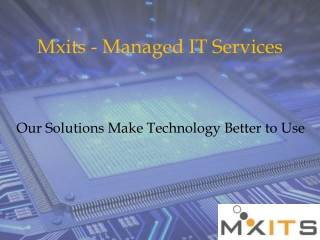 Mxits- Managed IT Services