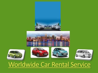 Wordwide Car Rental Company