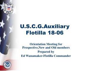 u.s.c.g.auxiliary flotilla 18-06