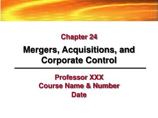 professor xxx course name  number