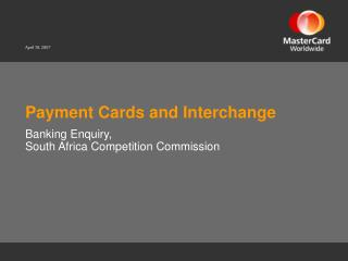 payment cards and interchange