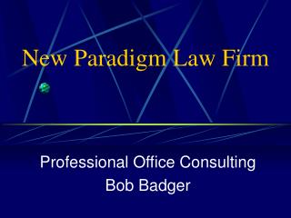 New Paradigm Law Firm