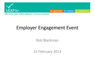 Employer Engagement Event