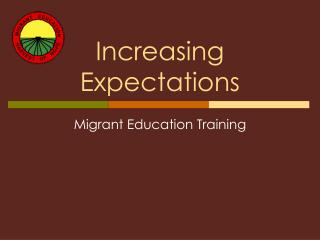 Increasing Expectations