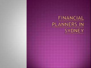 Financial planner Sydney