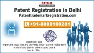 Patent Registration in Delhi