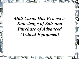 Matt Carns