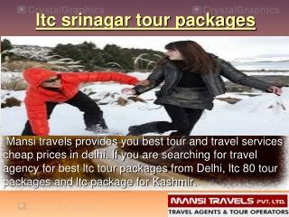 ltc srinagar tour packages