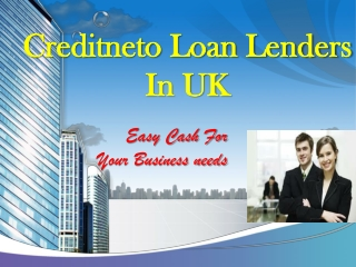 Easy loan for your business needs