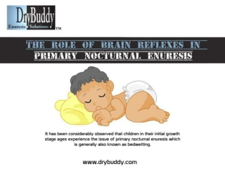 DryBuddy | Primary Nocturnal Enuresis