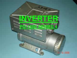 INVERTER PO-1500 SERIES 4