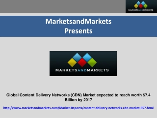 Global Content Delivery Networks (CDN) Market expected to re