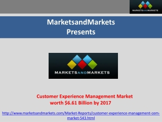 Customer Experience Management market