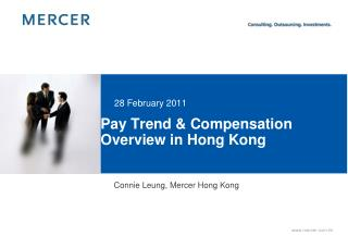 Pay Trend  Compensation Overview in Hong Kong