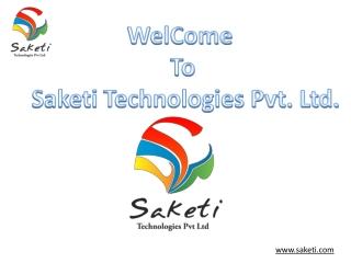 Web Designing Company | Saketi Technologies Pvt Ltd - Pune