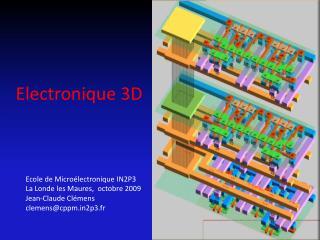 Electronique 3D
