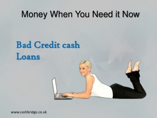 Save Your Finances With a Bad Credit Cash Loan