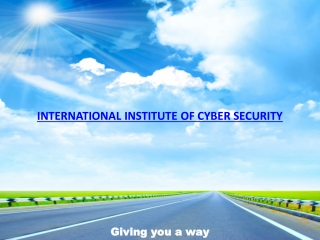International Institute Of Cyber Security
