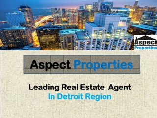 Investment Property Rochester Michigan-Aspect Properties