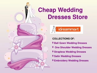 Cheap Wedding Dresses 2014